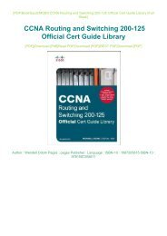 PDF Download CCNA Routing and Switching Step By Step Lab