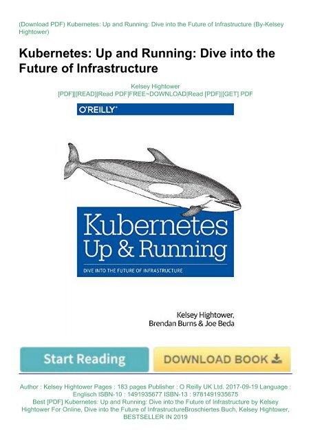 kubernetes up and running pdf free download