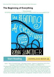 free-download-The-Beginning-of-Everything-by-Robyn-Schneider-Ebook-Download