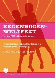 Ein Fest der Kulturen 20 Jahr Jubiläum – Oberwalliser ... - HOUS
