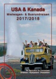 USA & Kanada Mietwagen- und Busrundreisen 2018/2019