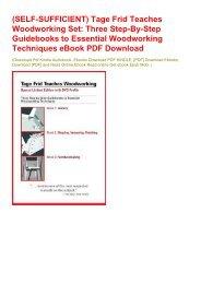 Woodworking teaches tage pdf frid