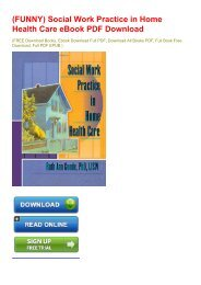 (FUNNY) Social Work Practice in Home Health Care eBook PDF Download