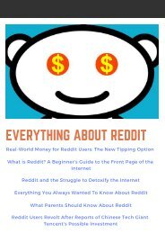Everything About Reddit