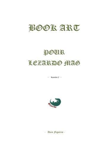 LéZARDO Book Art Série numéro2  - 2019