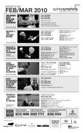The Creation - Sydney Symphony