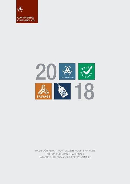 ContinentalClothingCompany Katalog 2018