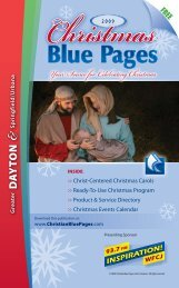 Your Source for Celebrating Christmas - Christian Blue Pages