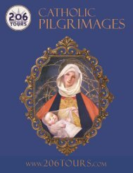 To download our latest 2013 Pilgrimages Brochure please - 206 Tours