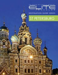 ST PETERSBURG - Elite Traveler