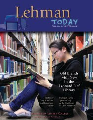 Old Blends with New in the Leonard Lief Library - Lehman College