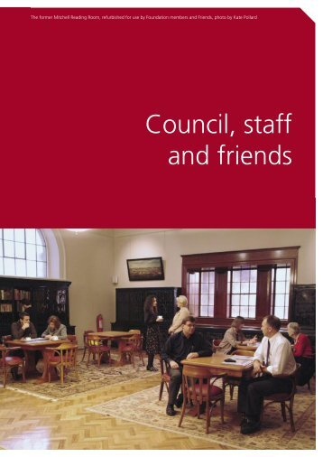 Annual Report 2004 - Council, staff and friends - State Library of ...