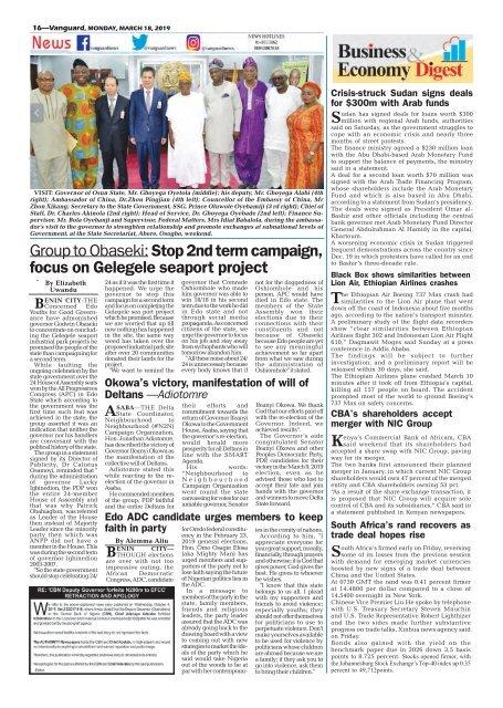 18032019 - APC, PDP attack INEC over Bauchi, Adamawa gov polls