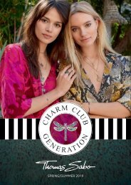 Thomas Sabo Charm Club Summer 2019 Catalogue