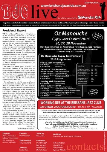Oz Manouche Gypsy Jazz Festival 2010!