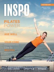 INSPO Fitness Journal March 2019
