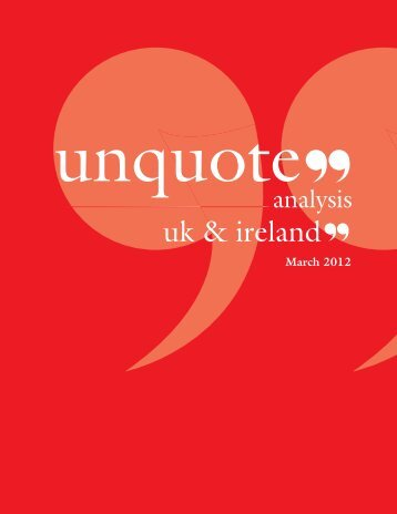 latest digital edition of UK & Ireland unquote