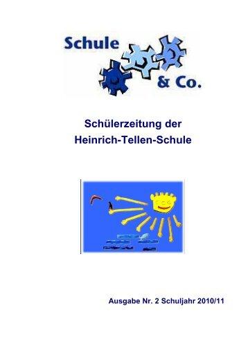 1 Schule aktuell Praktikum der BPS - Heinrich-Tellen-Schule