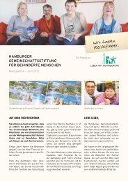 Wir haben Reisefieber. - Leben mit Behinderung Hamburg