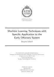 Machine Learning Techniques with Specific Application to the Early ...
