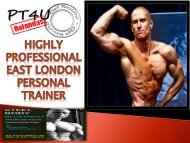 Highly Professional East London Personal Trainer