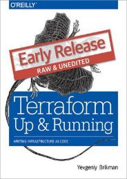 [GET] PDF Terraform: Up and Running: Writing Infrastructure as Code by Yevgeniy Brikman [Read] online