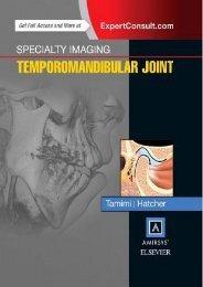 Download [PDF] Specialty Imaging: Temporomandibular Joint by Dania Faisal Tamimi pDf books