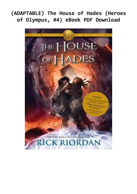 the house of hades online free pdf