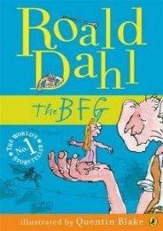 [PDF] free The BFG by Roald Dahl [PDF EPUB KINDLE]