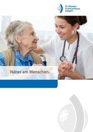 der medizinische Dienstleister - St. Marien-Krankenhaus Siegen