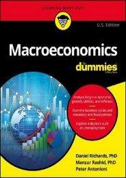 Download [PDF] Macroeconomics for Dummies by Manzur Rashid Full ONLINE