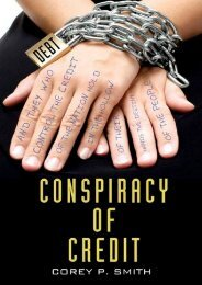 Best [PDF] Conspiracy of Credit by Corey P. Smith READ ONLINE