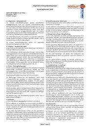 Allgemeine Einkaufsbedingungen Stand ... - Heisslufttechnik