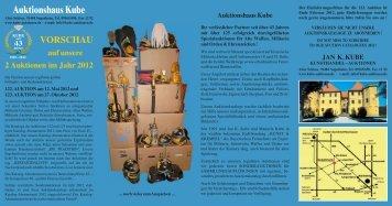Auktionshaus Kube - Kube Auktionen