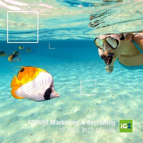 Tagungsmappe Forum Marketing 2019