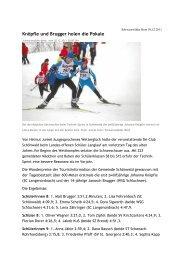 Knöpfle und Brugger holen die Pokale - Skiclub Hinterzarten