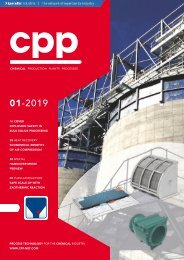 cpp – Process technology for the chemical industry 01.2019
