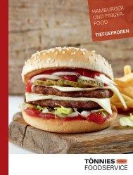 Foodservice Hamburger & Fingerfood