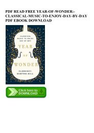 PDF READ FREE YEAR-OF-WONDER-CLASSICAL-MUSIC-TO-ENJOY-DAY-BY-DAY PDF EBOOK DOWNLOAD