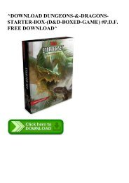 ^DOWNLOAD [PDF] DUNGEONS-&-DRAGONS-STARTER-BOX-(D&D-BOXED-GAME) #P.D.F. FREE DOWNLOAD^