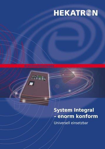 System Integral – enorm konform - Hekatron
