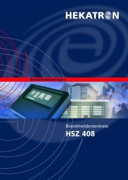 HSZ 408 – klein mit großen Eigenschaften - Hekatron