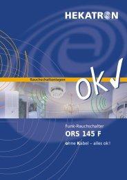 ORS 145 F ohne Kabel - Hekatron