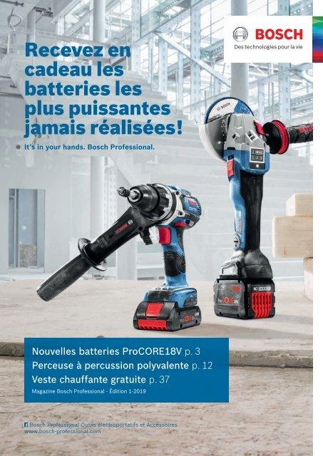 Bosch Batterie percussion GSR 18v-60 FC Professional flexiclick System 06019g7103