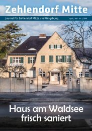 Zehlendorf Mitte Journal Apr/Mai 2019