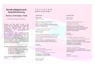 Brandmeldegesteuerte Sprachalarmierung PROGRAMM - Hekatron