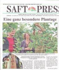 Eine ganz besondere Plantage -  Helene-Maier-Stiftung