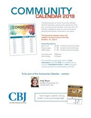 Community Calendar 2019 Kelly