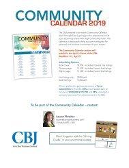 Community Calendar 2019 Lauren