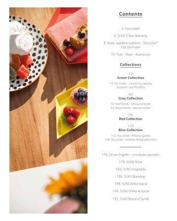 SUNS Gartenmöbel Katalog 2019